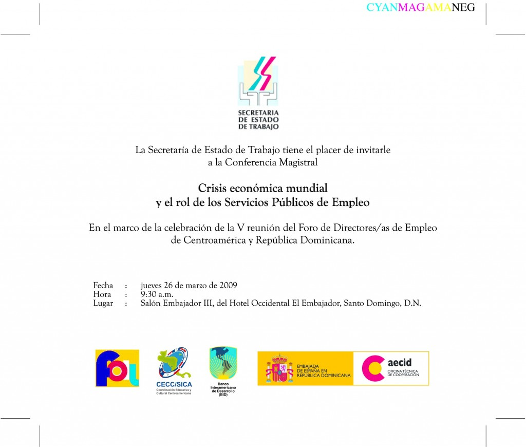 Invitación SET