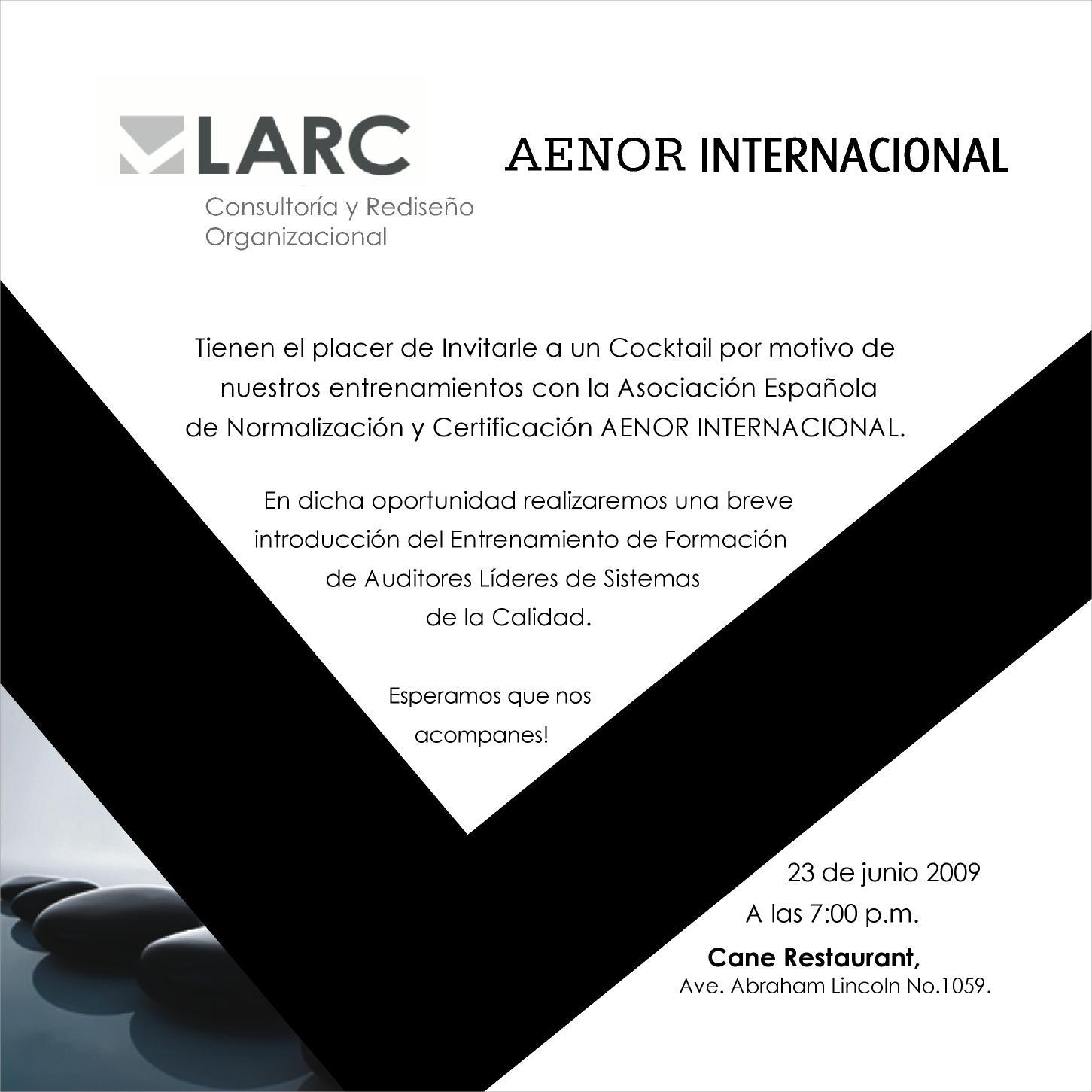 Invitación LARC