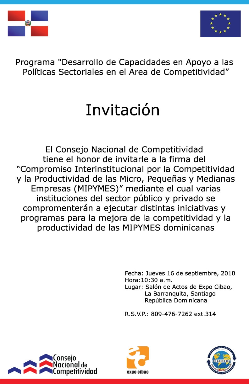 Firma de compromiso interinstitucional por la for Clausula suelo firma acuerdo privado