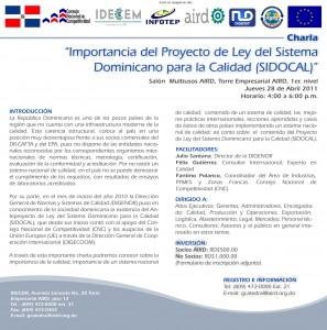 Charla CNC IDECEM_2011