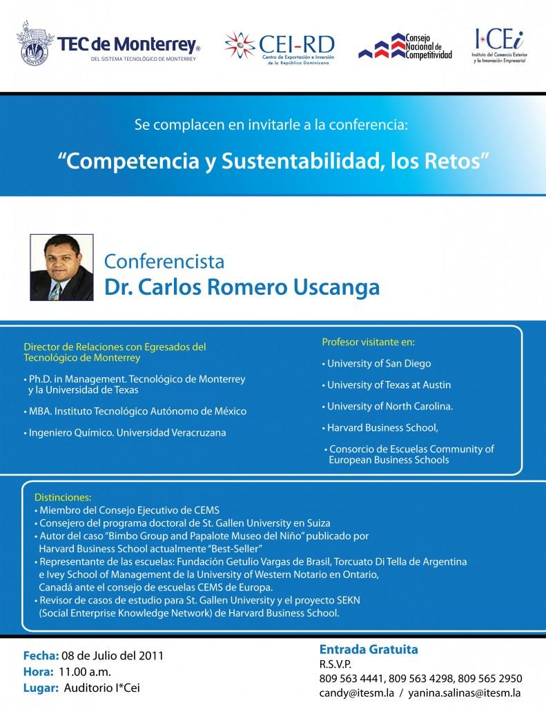 Competitividad y Sustentabilidad, los Retos