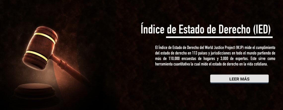 Índice de Estado de Derecho (IED) – 2018